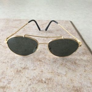 Accessories - New Gold-tone Frame Sunglasses